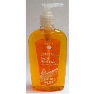 Image Essentials Gold Antibacterial Liquid Soap   7.5 Fluid Ounce Pump