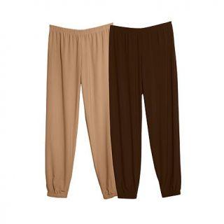 Slinky® Brand Harem Pant 2 pack Set   8185292