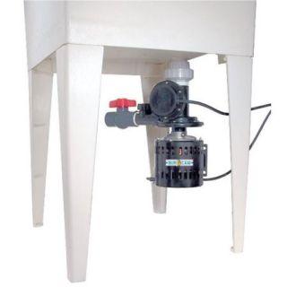 Bur Cam Pumps 300514W . 33 Hp Automatic Laundry Tub Pump