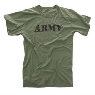 Vintage Olive Drab U.S. Army Distressed T shirt