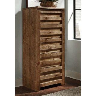 Progressive Furniture P604 13 Melrose Lingerie Chest in Driftwood