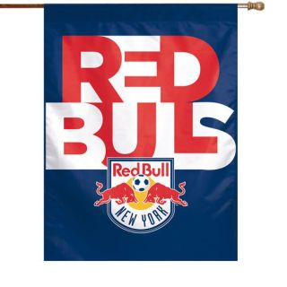 WinCraft New York Red Bulls 27 x 37 Vertical Banner Flag