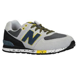 New Balance 574   Boys Grade School   Running   Shoes   Grey/Leather