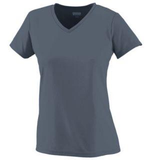 1791 Girls Wicking T shirt GRAPHITE L