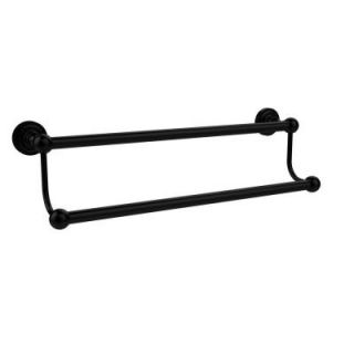 Allied Brass Dottingham Collection 30 in. Double Towel Bar in Matte Black DT 72/30 BKM