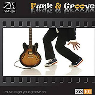 Sound Ideas CD: The Zis Music Library   Funk & SS ZIS Z101