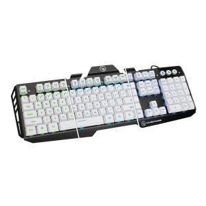 Kaliber Gaming by IOGEAR HVER Aluminum Gaming Keyboard   Keyboard   imperial white