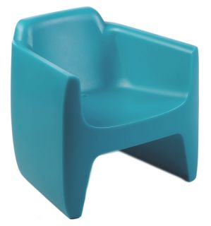 My First Translation Children armchair Turquoise by Qui est Paul ?