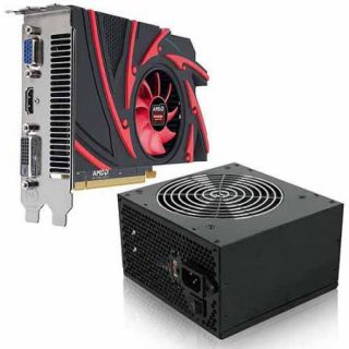 AMD Radeon R7 250 2GB GDDR3 PCI Express 3.0 Graphics Card with 350W Power Supply, Bundle Only
