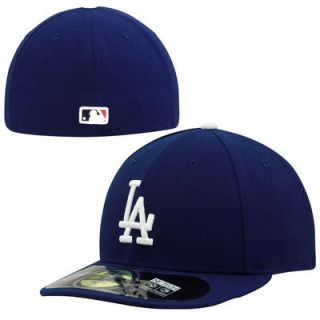 Los Angeles Dodgers New Era Authentic Collection Low Profile Home 59FIFTY Fitted Hat   Royal