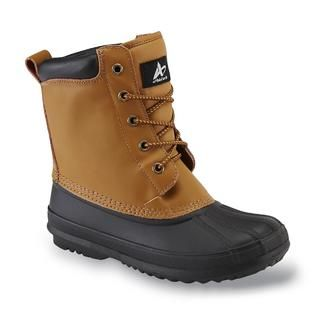 Athletech Womens Acacia Brown Water Resistant Duck Boot   Clothing