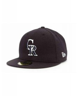 New Era Colorado Rockies C Dub 59FIFTY Cap   Sports Fan Shop By Lids