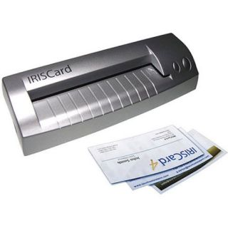 IRISCard Pro 4 USB Business Card Scanner for PCs & Macs by IRIS