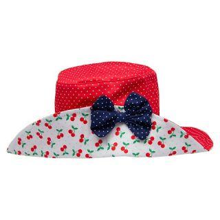 Toddler Girls Polka Dot Floppy Hat Red   Circo™
