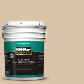 BEHR Premium Plus Home Decorators Collection 5 gal. #HDC CT 06 Country Linens Semi Gloss Enamel Exterior Paint 540005