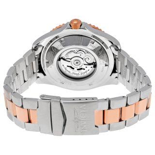 Invicta Pro Diver GMT Automatic Black Dial Two tone Mens Watch 15415