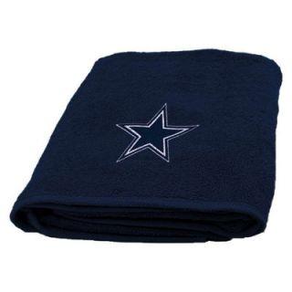 Dallas Cowboys 25 x 50 Applique Bath Towel
