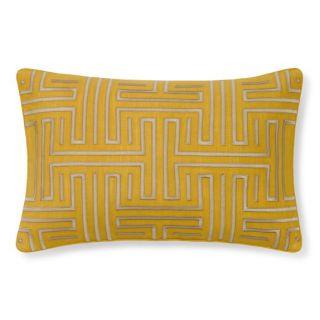 Colonial Greek Key Pillow Cover, Sunshine