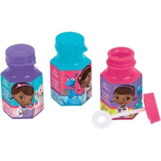 Doc McStuffins Mini Bubbles .6 Oz (12 Pack)   Party Supplies