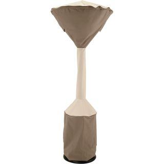 Classic Accessories Veranda Standup Patio Heater Cover — Pebble, 34in.Dia Dome x 18 1/2in. Round Base x 95in.H, Model# 73112  Patio Furniture Covers