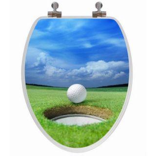 Topseat 3D Series Golf Elongated Toilet Seat