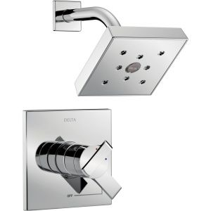 Delta Faucet T17267 Ara Polished Chrome  One Handle Shower Only Faucets