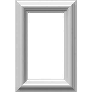 Ekena Millwork Ashford 8 in x 1 ft Polyurethane Preassembled Picture Frame Moulding