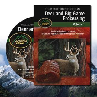 Outdoor Edge Deer and Big Game Processing DVD, Volume 1, 3Hours Run Time DP 101