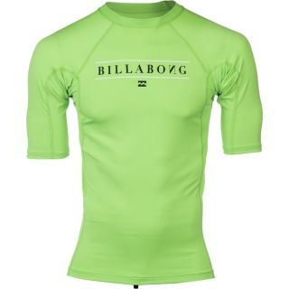 Billabong All Day Rashguard   Short Sleeve   Men's