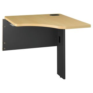 Bush Business Furniture Series A Transitional Desk Bridge