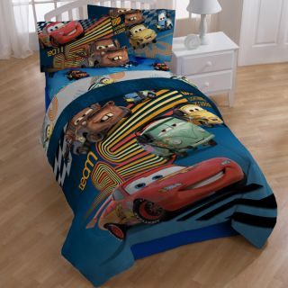 Disney Pixar Cars Grand Prix 7 piece Bed in a Bag with Sheet Set