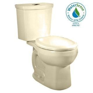 American Standard H2Option Bone 1.6; 1.1 GPF 12 in Rough in WaterSense Round Dual Flush 2 Piece Comfort Height Toilet