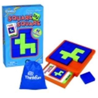 Thinkfun Square By Square Game, 5 Plus Years