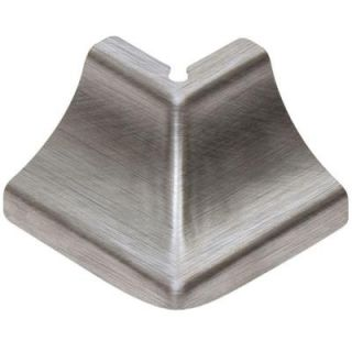 Schluter Dilex HKU Stainless Steel 1 in. x 1 1/2 in. Metal 135 Degree Outside Corner E135/HKUR10E