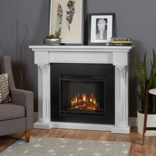 Real Flame Verona White Electric Fireplace   17662207