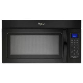 Whirlpool 1.9 cu. ft. Over the Range Microwave in Black with Sensor Cooking WMH32519CB
