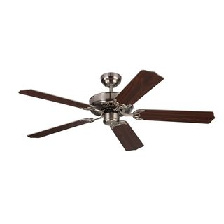 Monte Carlo Homeowner Max Brushed Steel 52 inch Ceiling Fan   17170290
