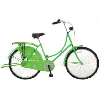 Hollandia New Oma Dutch Cruiser Bicycle with Chain Guard and Dress Guard, 26 in. Wheels, 18 in. Frame, Women's Bike, E HOLL 11