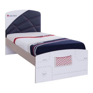First Class Airplane with Trundle Customizable Bedroom Set