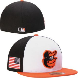 New Era Baltimore Orioles Black 59FIFTY American Patch