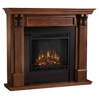 Real Flame Ashley Electric Fireplace; Mahogany