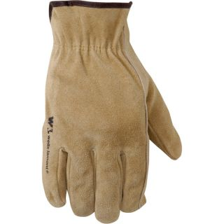 Wells Lamont Suede Cowhide Driver Gloves — Light Tan, XL, Model# 1012  Driving Gloves