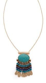 Jules Smith Hanging Medallion Necklace