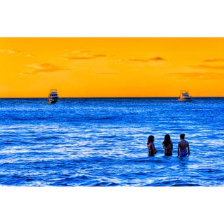 Women of the Blue Sea Costa Rica Seascape by Mark Tisdale Photographic