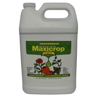 Maxicrop Original 1 Gallon Organic/Natural Flower and Vegetable Food (0 0 1)