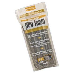 Wooster 6 1/2 in. Jumbo Koter Pro Foam Rollers (2 Pack) 0RR3080064