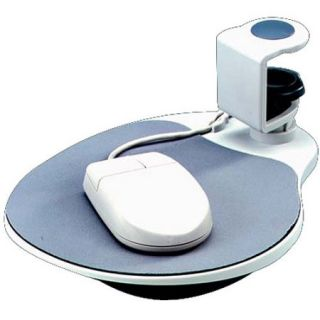 AiData Ergonomic Design, Under Desk Swivel Mouse Pad