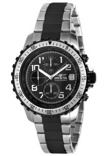 Men's Specialty Chrono Two Tone SS Black Dial