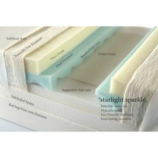 Sparkle Twin All Foam w/Visco & Breathwell core by Moonlight Slumber