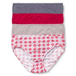 Beauty by Bali® Womens Hipster Brief 4 Pk